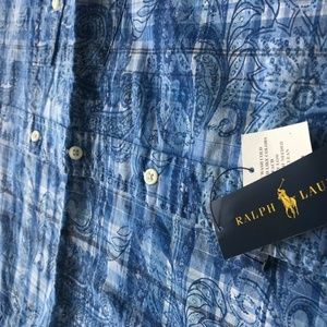 Polo by Ralph Lauren Shirts - Polo Ralph Lauren Men's Standard-Fit Cotton Size L